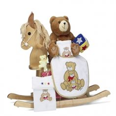 Boys natural rocking horse gift set by baby gifts n treasures rocking horse keepsake baby gift rocking horse keepsake baby gifts when it comes to rocking horse baby gifts none is more popular or more impressive than negle Images