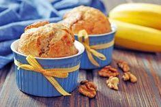 Celozrnné banánové muffiny | Recepty | zena.sme.sk