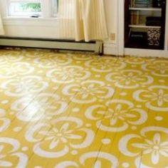 sunroom floor....
