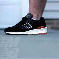 New Balance 997 worn by @KicksIsCrack via #TeamNB