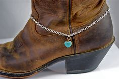 Boot Bling for the rodeo.