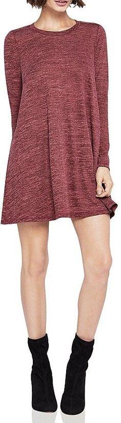 BCBGeneration Long-Sleeve A-Line Dress