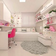 Pin By Sunwill On Atilde Kids Atilde In 2019 Small Room Bedroom Cute Bedroom Ideas, Girl Bedroom Designs, Awesome Bedrooms, Small Room Bedroom, Girls Bedroom, Bedroom Decor, Dream Rooms, Girl Room, Home Decor