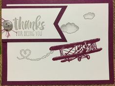 Stampin up. SAB 2016. The sky is the limit.