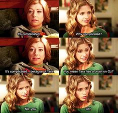 Buffy finds out about Willow and Tara