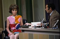 Helen Gurley Brown on the Joey Bishop show in Helen Gurley Brown, Joey Bishop, Cosmo Girl, Baby Boom, My Memory, Memories, Vip, Girls, Fashion