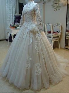 Light Champagne Muslin Wedding Dress with Handmade Flowers#prom #promdress #dress #eveningdress #evening #fashion #love #shopping #art #dress #women #mermaid #SEXY #SexyGirl #PromDresses