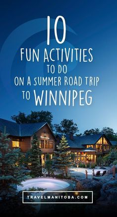 Ready to start exploring more of Canada? Look no further than Winnipeg, Manitoba for your next GREAT summer road trip. Here are 10 amazing things you MUST do on your trip to our capital city Canada Summer, Visit Canada, Canada Tours, Canada Trip, Fun Activities To Do, Adventure Activities, Northern Lights Tours, Canadian Travel, Atlantic Pacific