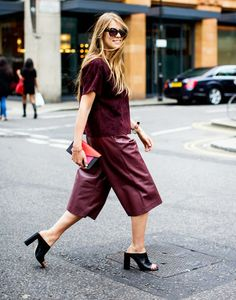 Street style- Culottes