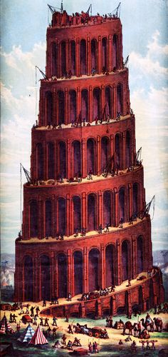 Tower Of Babel - A Victorian Image