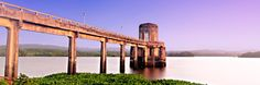 """AQUA TURRIS"" (Water Tower)  A panoramic shot of the water tower of Caliraya Lake, Laguna Philippines."