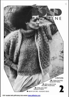 Patterns For Ultimate Sweater Machine 89