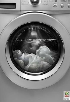 Ariel Ultrasound, Clothes like new Advertising Agency: Saatchi & Saatchi, Dubai, United Arab Emirates