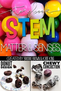 States of Matter and Five Senses STEM Challenges, Language Arts Components, and Science Activities to match favorite picture books | Elementary STEM Activities
