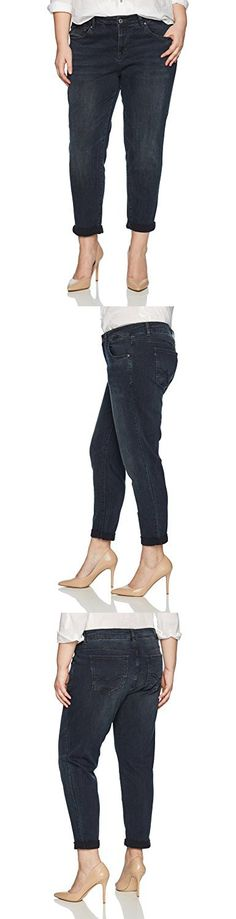 Rebel Wilson X Angels Women's Plus Size The Ryot Vintage Basic Tomboy Boyfriend Jean, Sunset, 18W