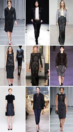 black on black fashion statements
