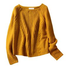 Boat Neckline Fisherman Knit Pullover (€36) ❤ liked on Polyvore featuring tops, sweaters, shirts, jumpers, knit pullover sweater, retro sweaters, pullover shirt, raglan shirts and knit sweater