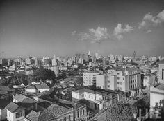 1947 - Rua Maria Antônia. Foto obtida a partir do Instituto Mackenzie.