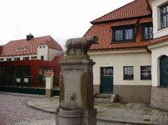 """In the footsteps of Kurt Vonnegut – Slaughterhouse 5 Tour"" - Dresden, Germany."