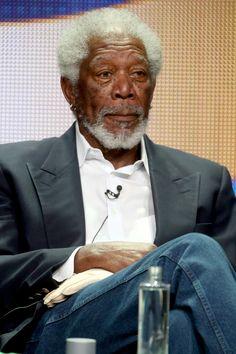 Morgan Freeman (77) - Conduzindo Miss Daisy (1989); Um Sonho de Liberdade (1994); Menina de Ouro (2004) (Foto: Getty Images)