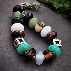 #trollbeads #trollbeadsuk #gemstones ...gemstones ❤️