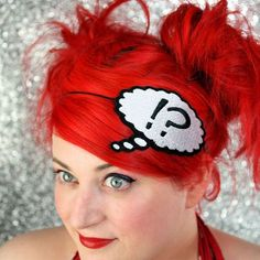 Say What, WTF, Headband, Thought Bubble on etsy