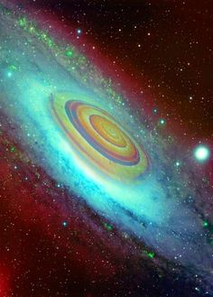 cool Composite image of spiral galaxy NGC 3627 which is located about 30 million ligh...