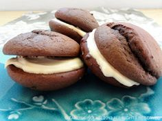 Having never tasted a whoopie pie before, I was quite pleased at how well my chocolate whoopie pies with a salted caramel filling turned out. They made a perfect dessert for when we had visitors.