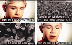 Never say never Niall:D