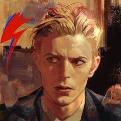 DAVID BOWIE illustration… does anyone know the artist? Art And Illustration, Arte Punk, Wal Art, David Bowie Art, David Bowie Eyes, Art Inspo, Amazing Art, Art Reference, Character Art