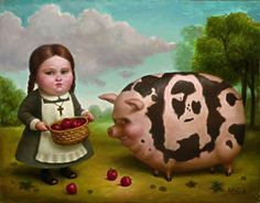 Marion Peck. Divine Swine