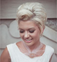 Short formal hairstyle
