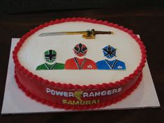 power rangers cakes - Google Search