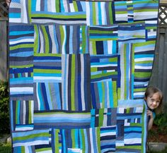 BlueberryGabs: Bloggers Quilt Festival - Spring 2013 really love her use of color