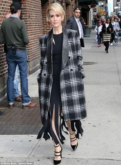 No so scary now: American Horror story star Sarah Paulson proved she can also do glamour a...