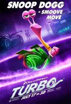 turbo movie character posters | ... Poster For TURBO! TURBO International Poster TURBO New International