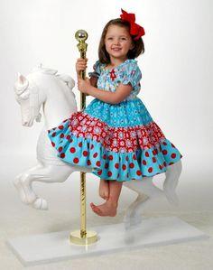 'Sew Twirly' Tiered Peasant Dress $9.95