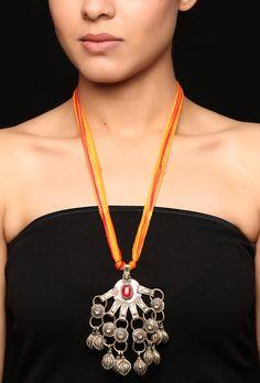Abisha Thread Afghan necklace