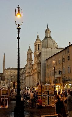 Piazza Navona ♦ Rome, Italy | Flickr - Photo by Sergei Kosarev