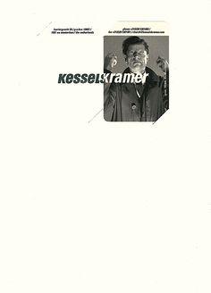 "KesselsKramer, 2007 |Source The letterhead of Dutch ""communications agency"" KesselsKramer, complete with detachable business card."
