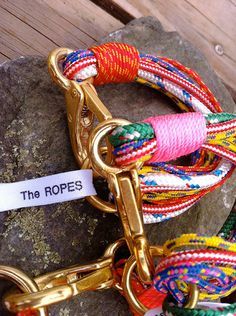 the ropes bracelets available on Jewelry Nut Auctions on Facebook!