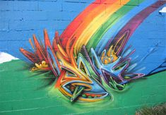 Colorful splash play colors graffiti artworks collection