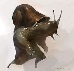Snailman by Mr--Jack | Eu Curto!: criaturas | Pinterest
