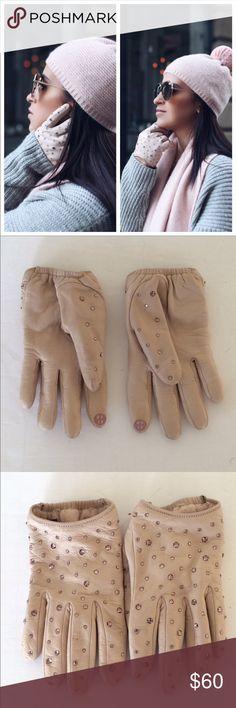 Henri Bendel Leather Gloves XS Henri Bendel Leather Gloves XS used - minor wear henri bendel Accessories Gloves & Mittens