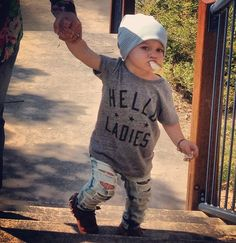 Awesome Little Boys outfit! Love it!