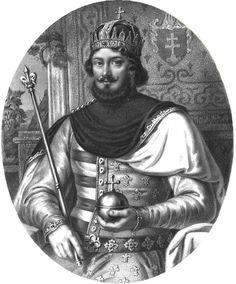 I. (Nagy) Lajos Anjou-házi magyar király (uralkodása: 1342–1382 Károly fia, 1370-től Lengyelország királya is)
