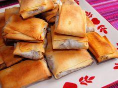 As receitas lá de casa: Almofadinhas de legumes com bacon