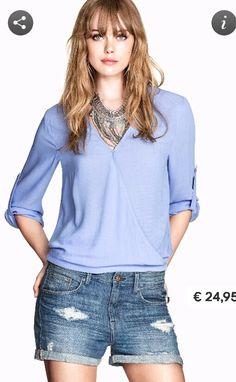 H&m camicia incrociata