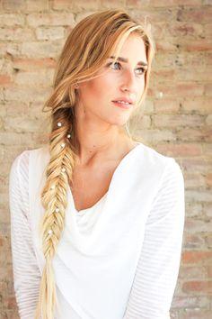 Pearl Swirls Hair Accessory