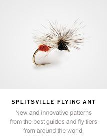 Flying Ant Pattern, now this would work in a nice ripple , on sinking line, that red arse will raise a fish ...
